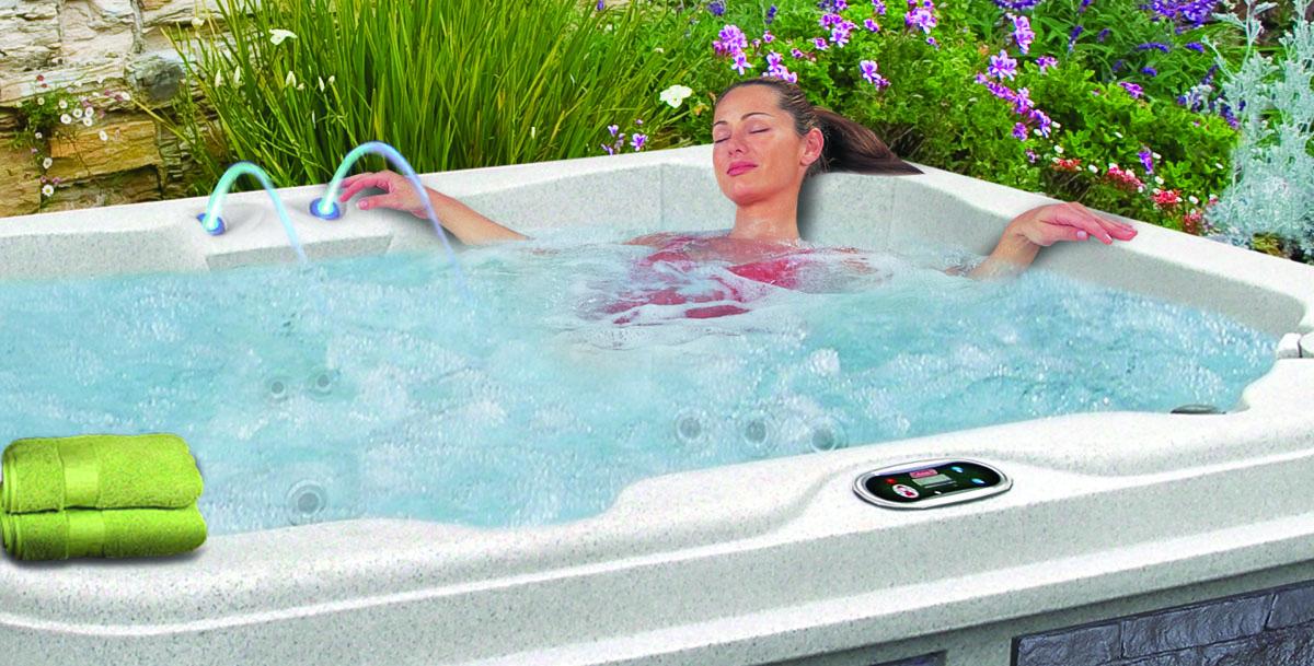 Coleman Spas hot tub